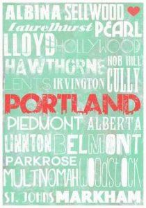 Portland Oregon neighborhoods