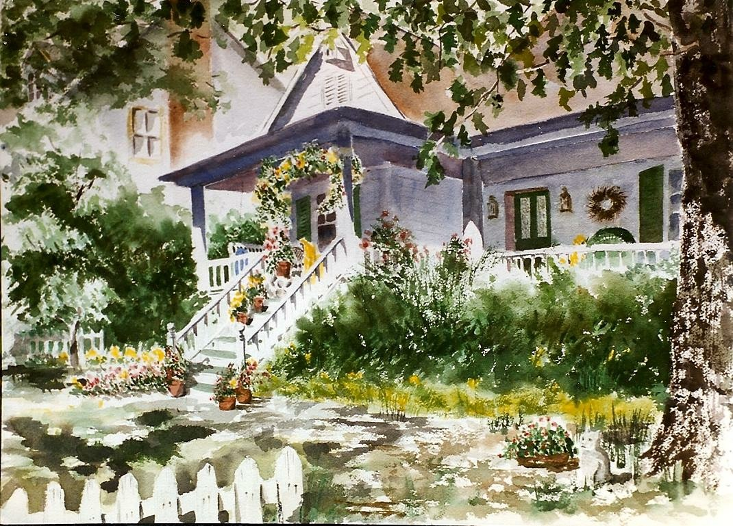 Historic Home Painting